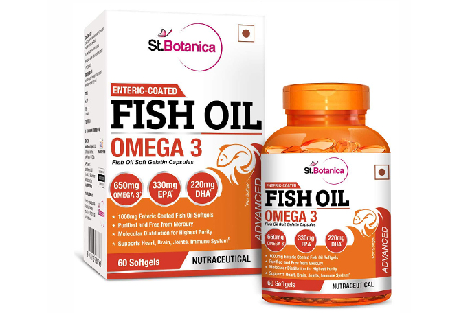 Fish Oil Packaging Boxes