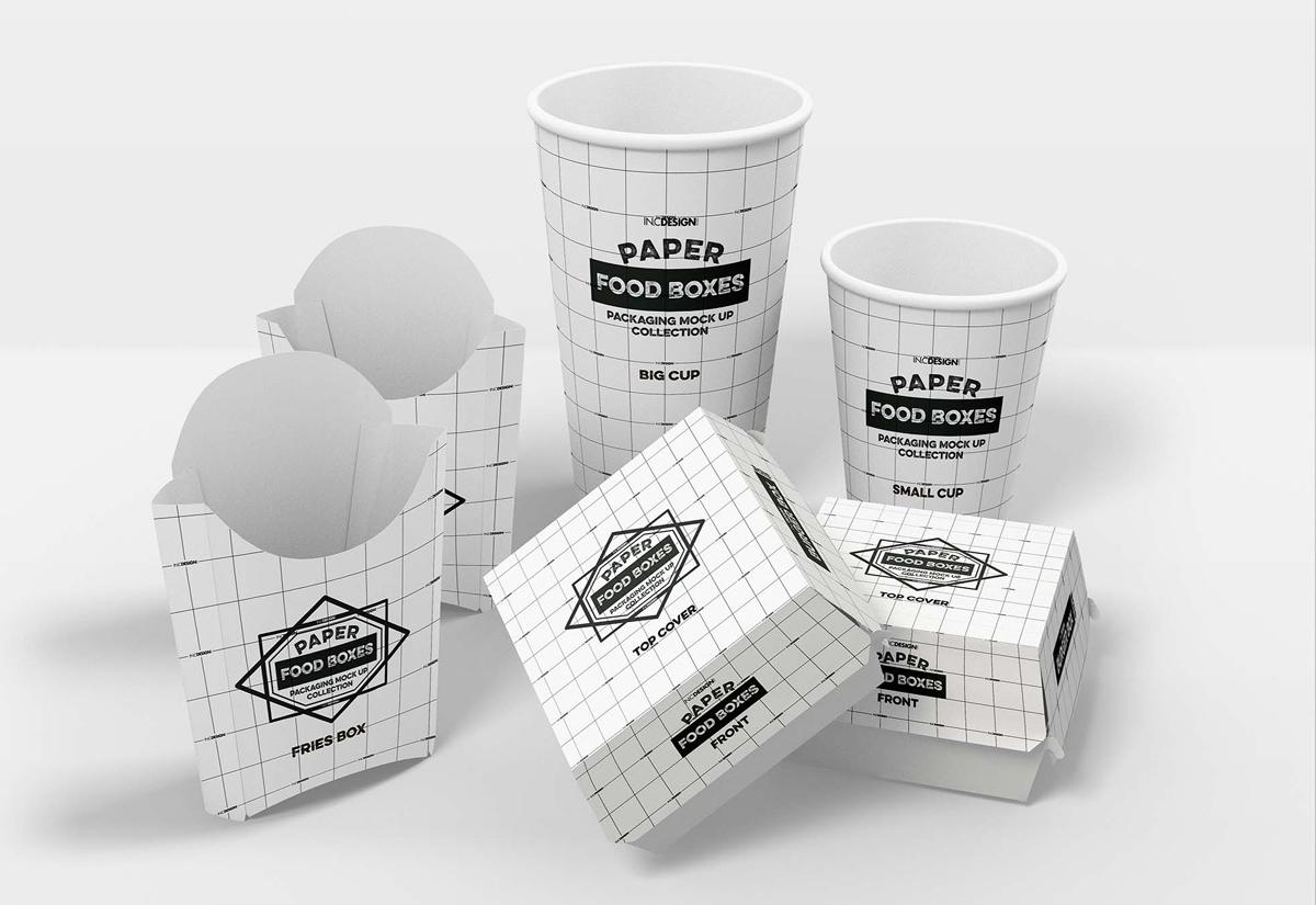 Cup Jar Boxes