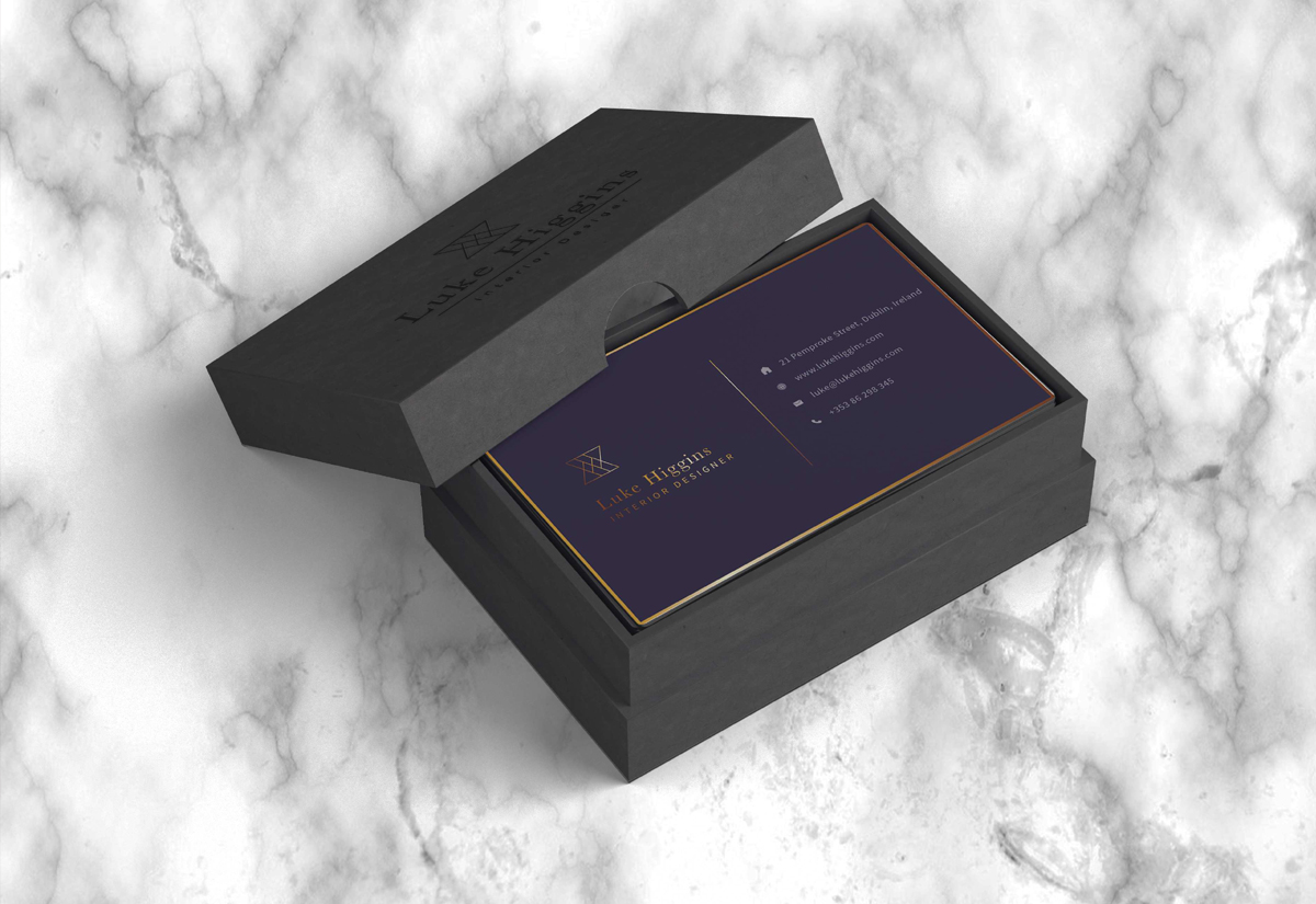 Luxury Business Card Boxes