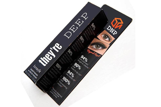 Eye Shadows Mascara Boxes