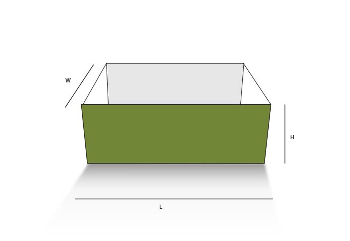 Pinch Lock Tray
