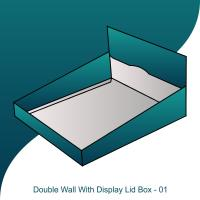 Double Wall Display Lid